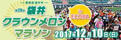 袋井クラウンメロンマラソン in ECOPA